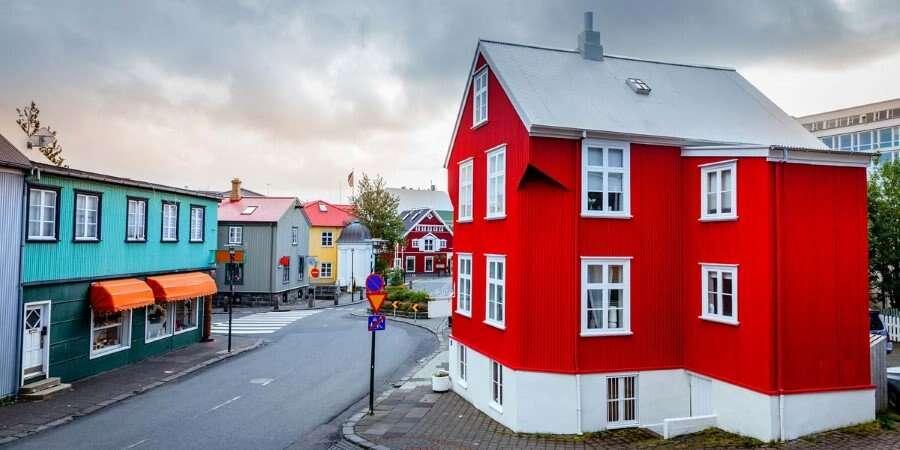 Arriving in Iceland  - Reykjavik, Iceland