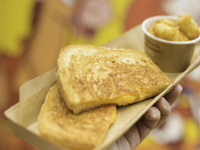 Disney Parks' Grilled Cheese Sandwich from Toy Story Land
