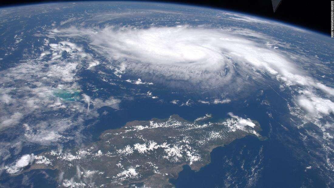 The Cruise Ship and the Hurricane