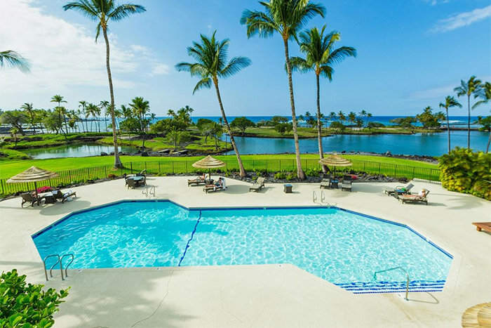 Mauna Lani Terrace 5 star, Hawaii pool