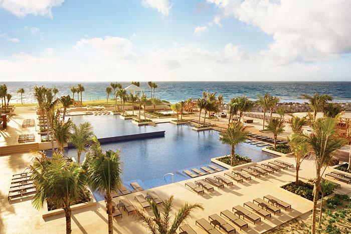 Hyatt Ziva Cancun pool