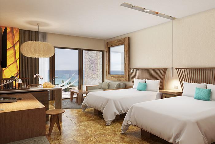Hotel Xcaret Mexico bedroom