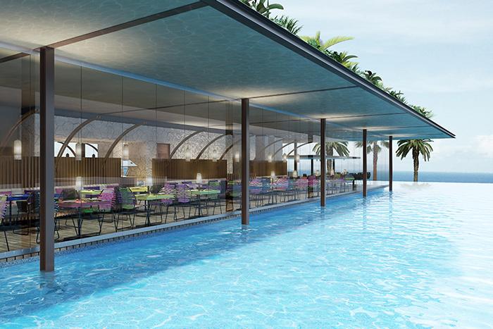 Hotel Xcaret Mexico pool