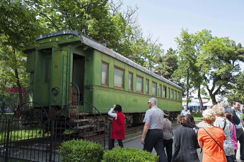 Stalin's railroad car