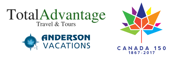 A Canada 150 Journey, presented by Total Advantage Travel & Anderson Vacations