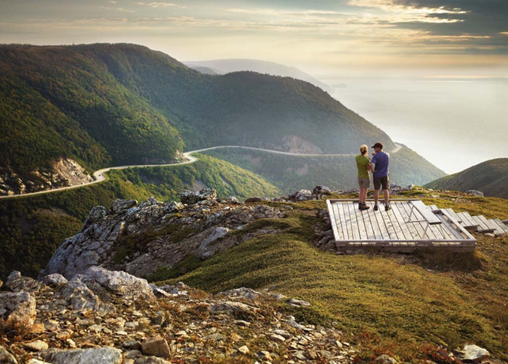 The historic Cabot Trail
