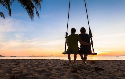 Destination Weddings - Beach Swing