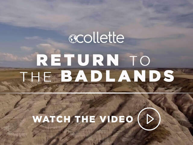 Collette Returns to the Badlands