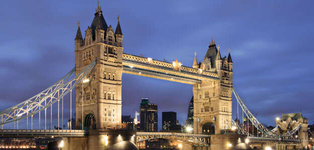7-DAY WESTERN EUROPE FROM LONDON (SOUTHAMPTON)
