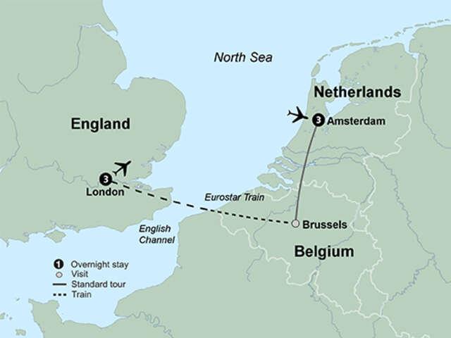 Amsterdam & London