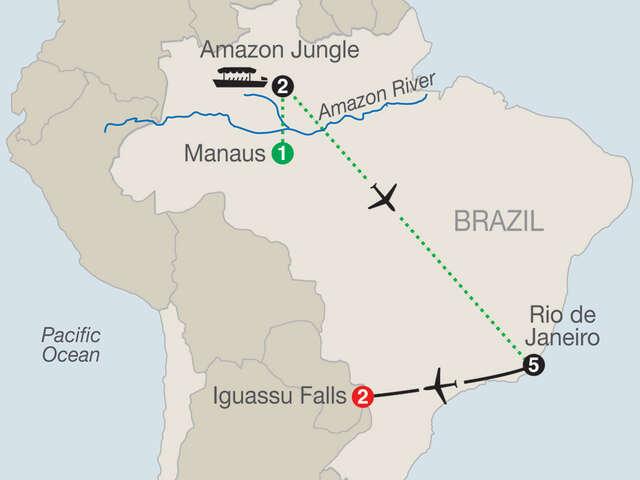 Brazilian Getaway with Brazil's Amazon