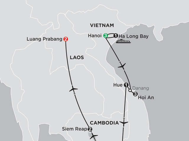 Simply Vietnam with Cambodia and Luang Prabang