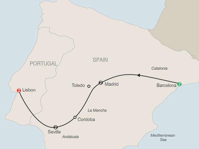 Spain & Portugal Escape