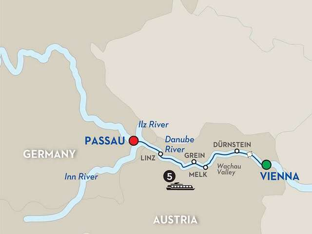 A Culinary Experience on the Danube Symphony - Cruise Only
