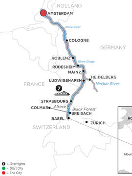 Romantic Rhine with 2 Nights Lucerne – Northbound