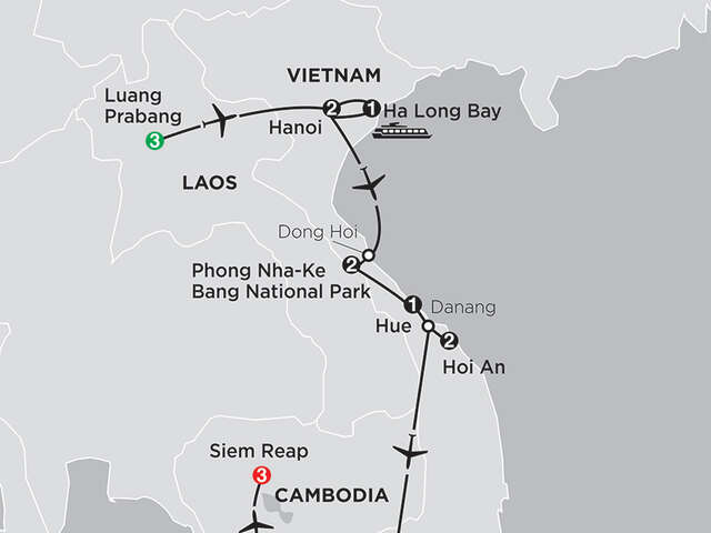 Simply Vietnam with Laos & Cambodia