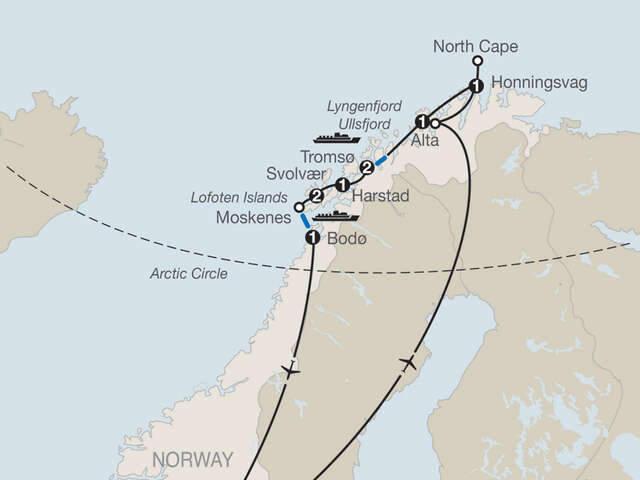 Land of the Midnight Sun & Lofoten Islands