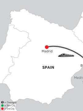 2 Nights Barcelona & 2 Nights Madrid