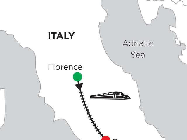 2 Nights Florence & 5 Nights Rome