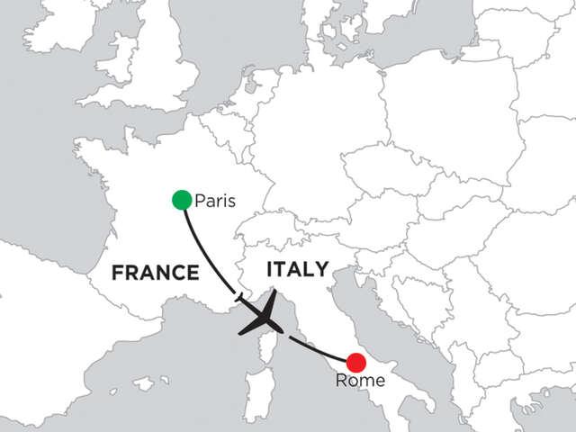 5 Nights Paris & 5 Nights Rome