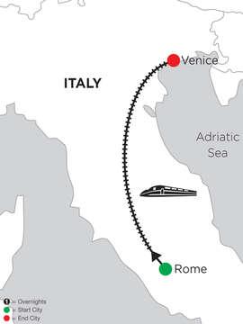 2 Nights Rome & 5 Nights Venice
