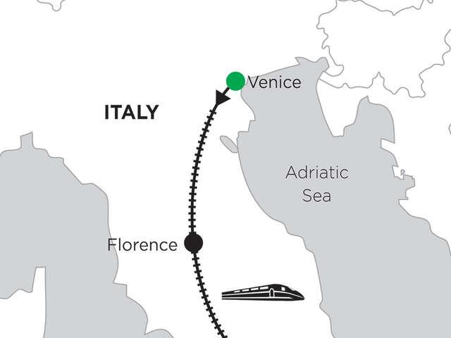 3 Nights Venice, 2 Nights Florence & 5 Nights Rome