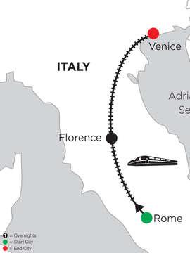 3 Nights Rome, 4 Nights Florence & 5 Nights Venice