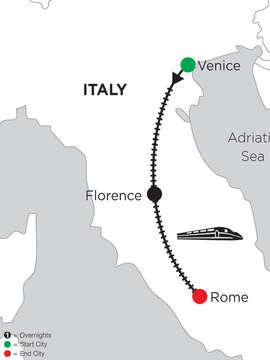 5 Nights Venice, 3 Nights Florence & 4 Nights Rome