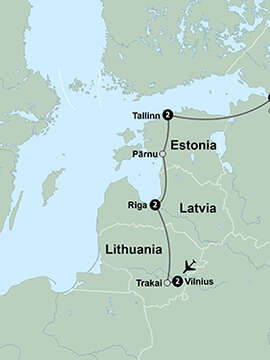 The Baltics Revealed featuring St. Petersburg