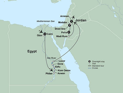 Journey Through Egypt and Jordan