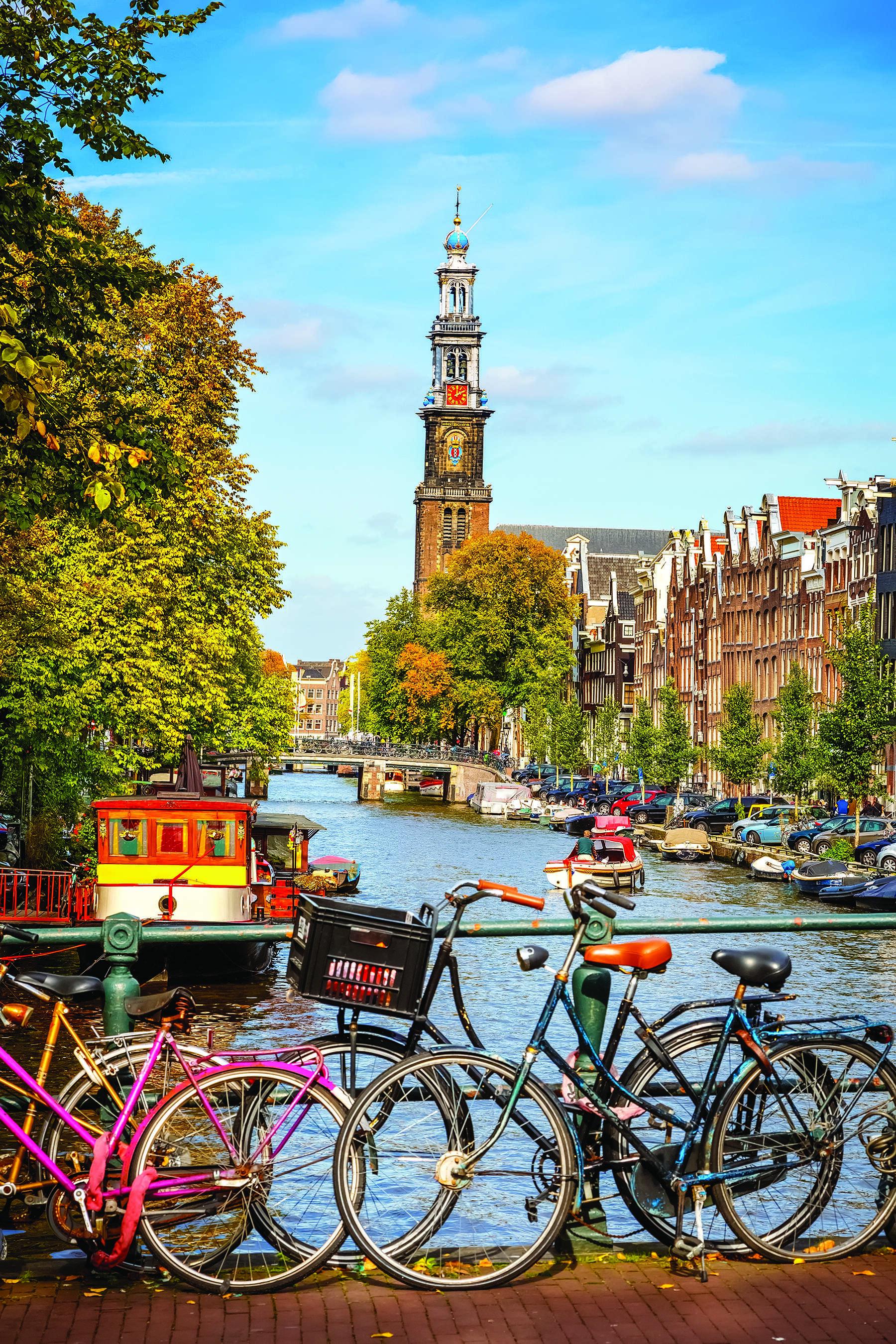 Netherlands, Belgium & France