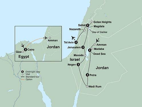 Jordan & Israel: Cultural Crossroads