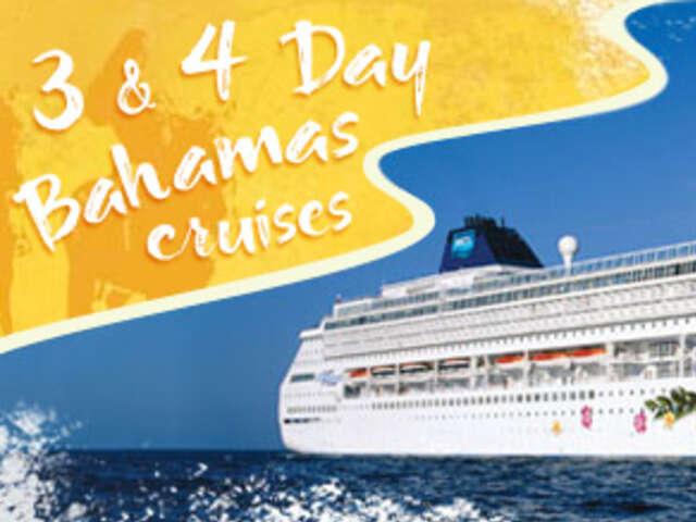 4-DAY BAHAMAS ROUND-TRIP MIAMI: GREAT STIRRUP CAY & NASSAU