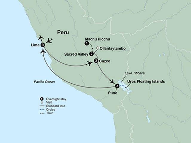 Peru: Machu Picchu and Lake Titicaca